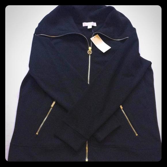 858c81d94e4 Micheal Kors medium funnel neck sweatshirt